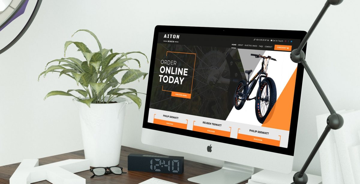 Aiton Bikes bespoke CMS PHP website
